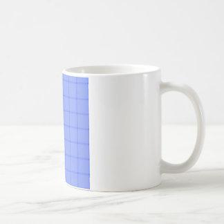Two Bands Small Square - Blue1 Coffee Mug