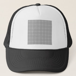 Two Bands Small Square - Gray2 Trucker Hat