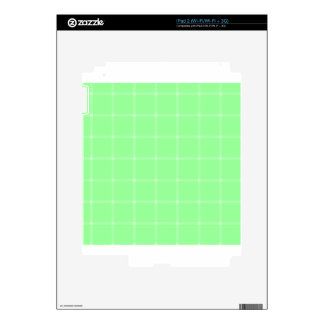 Two Bands Small Square - Green2 iPad 2 Skin