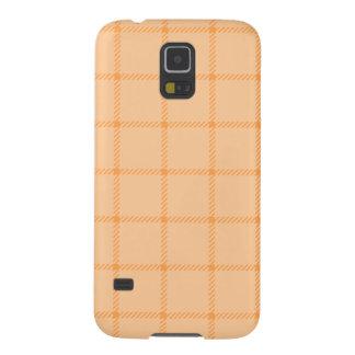 Two Bands Small Square - Orange1 Galaxy S5 Case