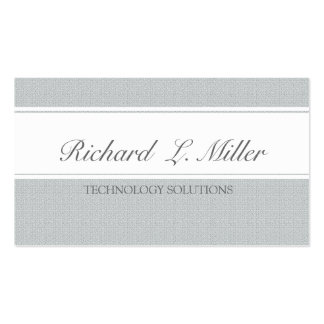 Two Bands Unique Plain Elegant Business Card
