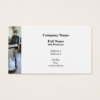 Two Barber Chairs Business Card