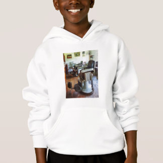 Two Barber Chairs Hoodie