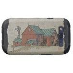 Two Barns & Hay Wagon Samsung Galaxy SIII Case
