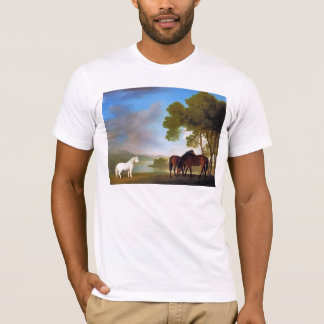 Two Bay Mares & a Grey  Pony T-Shirt