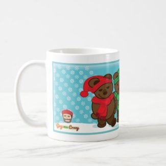 Two Bears Happy Holidays Coffee Mug