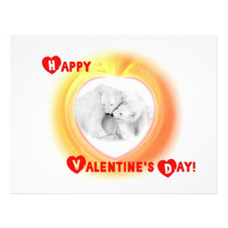 Two Bears in Love -- Happy Valentine's Day! Flyer