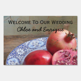 Two Become One Personalized Wedding Sign