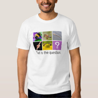 Two Bee Oar Knot Two Bee - Rebus Puzzle Shirt