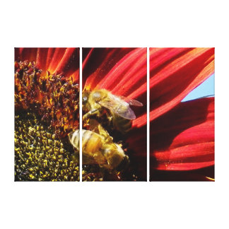 Two bee or not to bee gallery wrapped canvas