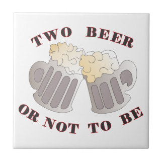 two beer tile