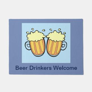 Two Beers Doormat