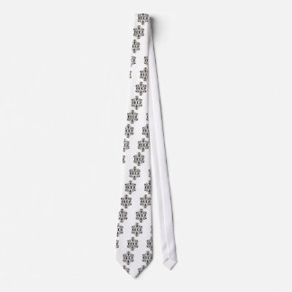two bees with clover trans1 neck tie