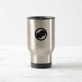 Two bells in circle travel mug