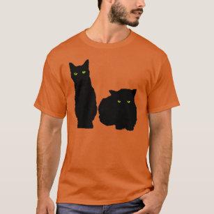 537a6ed62 Black Cat Silhouette T-Shirts - T-Shirt Design & Printing | Zazzle