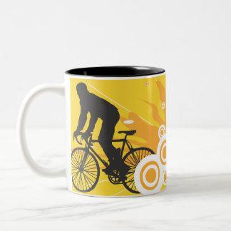 two bike mug