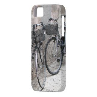 Two Bikes on an Italian Street iPhone Case