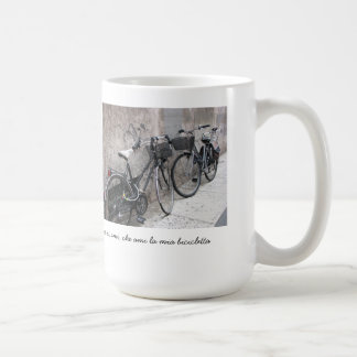 Two Bikes on an Italian Street Mug
