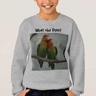 Two Bird Conures Sweatshirt