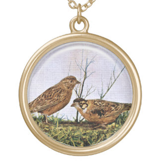 Two Bird Pendant
