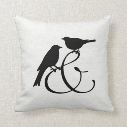 Two Birds And......... Throw Pillow Zazzle