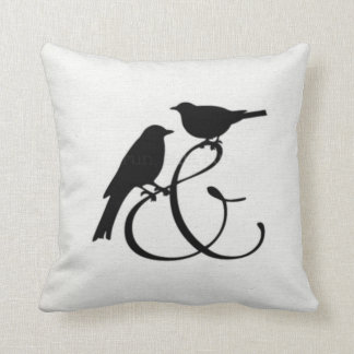 Two Birds And......... Throw Pillow