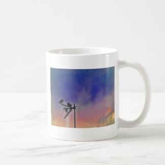 Two Birds at Sunset Classic White Coffee Mug