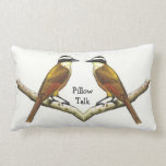 Two Birds Face To Face: Pillow Talk: Color Pencil