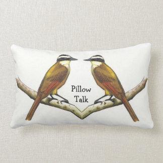 Two Birds Face To Face: Pillow Talk: Color Pencil