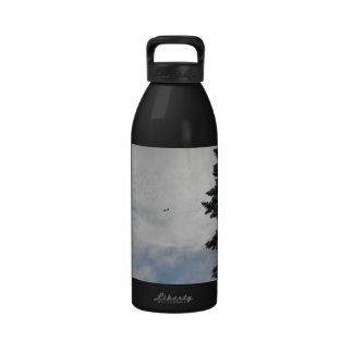 Two Birds Flying High Water Bottles