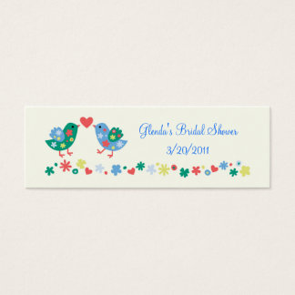 Two Birds Gift or Favor Card