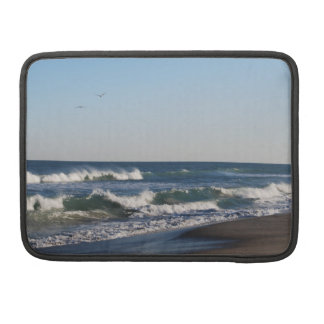 Two Birds over Kure Beach MacBook Pro Sleeve