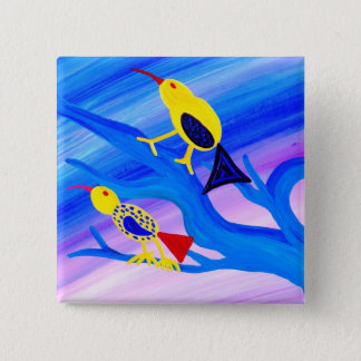 Two Birds Pinback Button