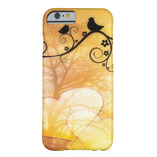 Two birds resting in a tree iphone 6/6s case