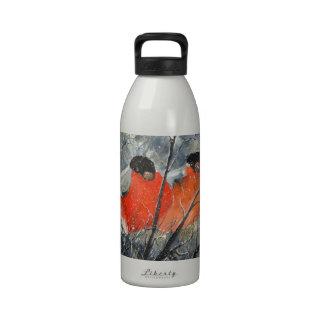 Two birds reusable water bottles