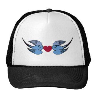 Two birds trucker cap trucker hat