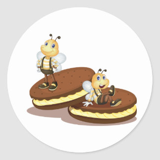 Two Biscuits Stickers