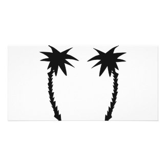 two black palms icon card
