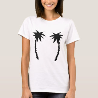 two black palms icon T-Shirt