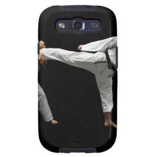 Two Blackbelts Sparring 2 Samsung Galaxy S3 Cases