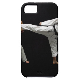 Two Blackbelts Sparring 2 iPhone 5 Covers