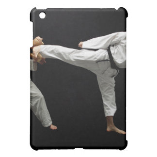 Two Blackbelts Sparring 2 Case For The iPad Mini