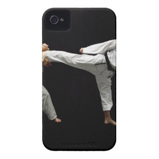 Two Blackbelts Sparring 2 Case-Mate iPhone 4 Case