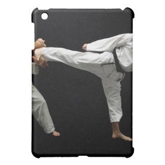 Two Blackbelts Sparring 2 iPad Mini Cover