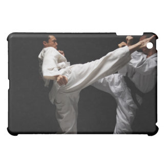 Two Blackbelts Sparring Cover For The iPad Mini