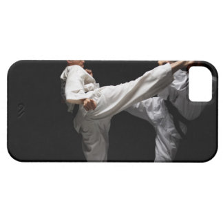 Two Blackbelts Sparring iPhone SE/5/5s Case
