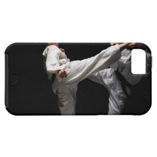 Two Blackbelts Sparring iPhone SE/5/5s Case