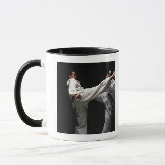 Two Blackbelts Sparring Mug