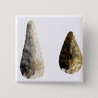 Two blades, from Saint-Acheul Pinback Button