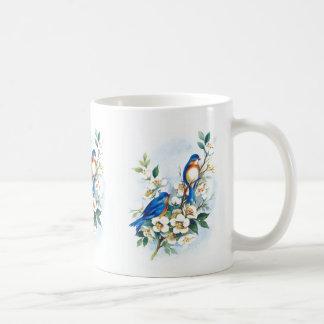 Two Bluebirds Mugs